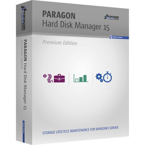 Paragon Hard Disk Manager 15-Advanced Workstation 299PREPLWB-E