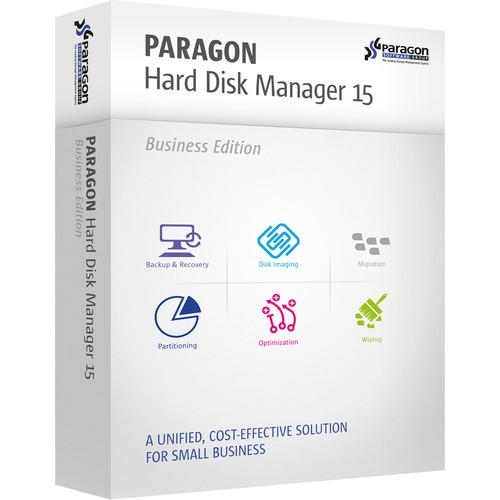 Paragon Hard Disk Manager 15 Business (Download) 299BSEBL-E