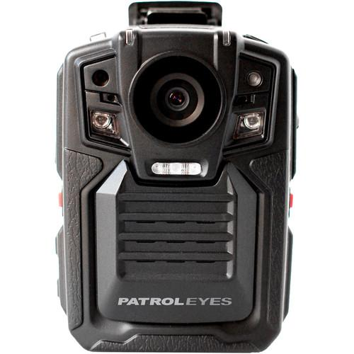 PatrolEyes 1080p IR Police Body Camera with GPS SC-DV5-16GB