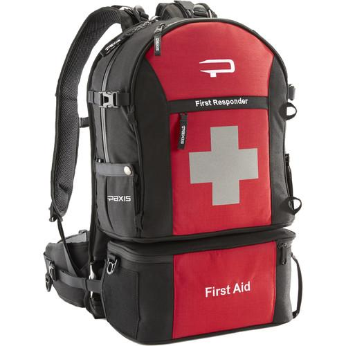 PAXIS  First Responder Backpack (Red) FR20101