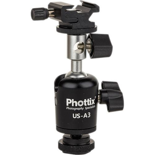 Phottix US-A3 Umbrella Swivel for Off-Camera Flash PH87208