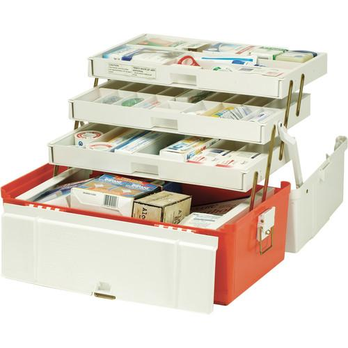 Plano 747 Extra-Large Front Access Three-Tray Medical Box 747004