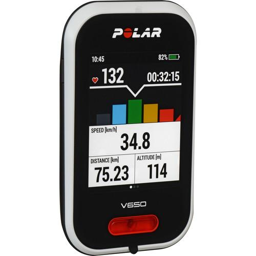 Polar V650 Cycling Computer with H6 Heart Rate Sensor 90050534