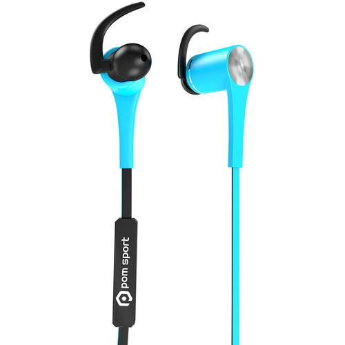 POM GEAR Sport Pro2Go SP-100 Bluetooth Earbuds SP100-BKBL