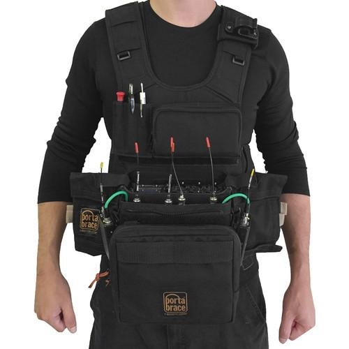 Porta Brace ATV-633 Audio Tactical Vest for Sound ATV-633