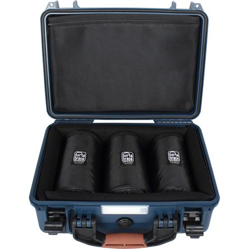 Porta Brace Hard Case with Three 7