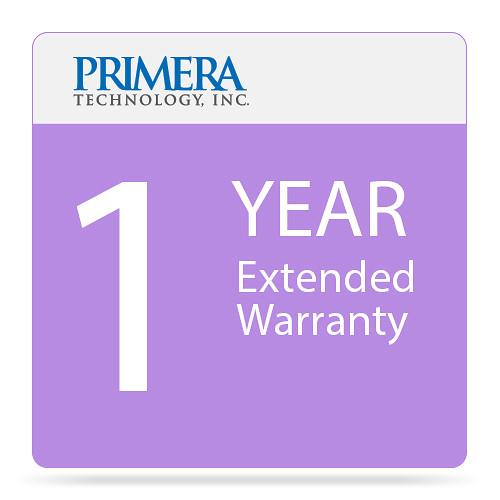 Primera 1-Year Warranty Extension for Bravo 4100 Printer 90223