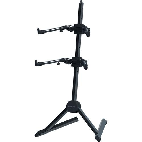 QuikLok Double-Tier Slant Keyboard Stand Black SL930