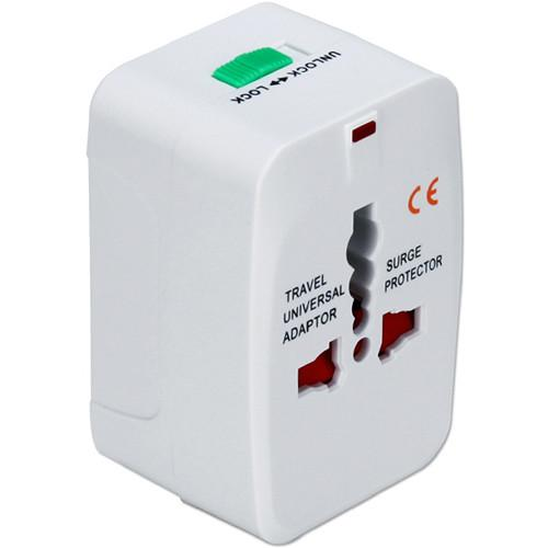 QVS World Power Travel Adapter Kit with Surge Protection PA-C3WH