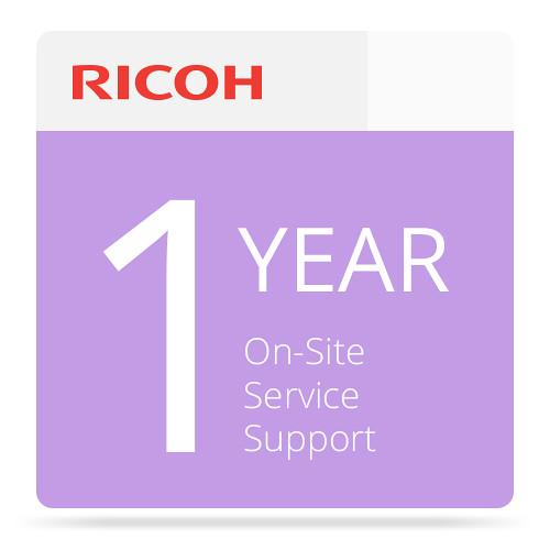 Ricoh 1-Year Extended On-Site Service Warranty 005797MIU-PS1
