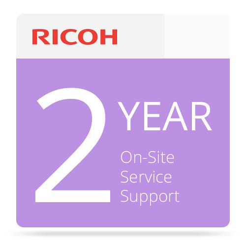 Ricoh 2-Year Extended On-Site Service Warranty 005798MIU-PS1