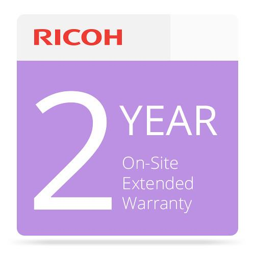 Ricoh 2-Year Extended On-Site Service Warranty 008015MIU-PS1