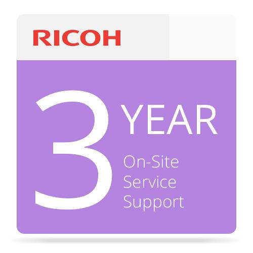 Ricoh 3-Year Extended On-Site Service Warranty 005799MIU-PS1