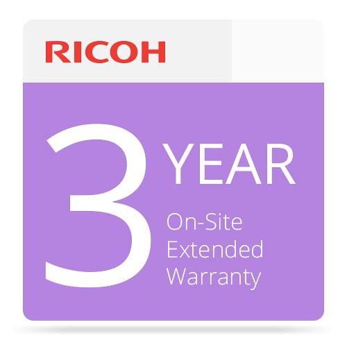 Ricoh 3-Year Extended On-Site Service Warranty 008016MIU-PS1