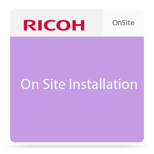 Ricoh On-Site Installation for SP C250DN and SP 008021MIU-PS1
