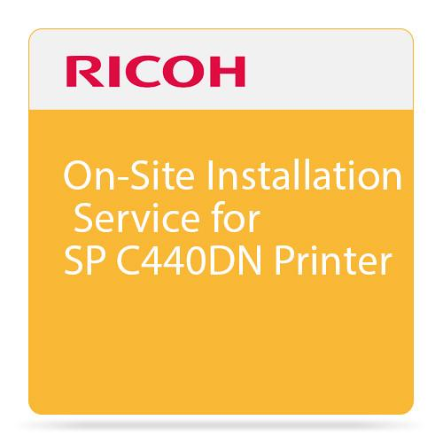 Ricoh On-Site Installation Service for SP C440DN 008091MIU-PS1