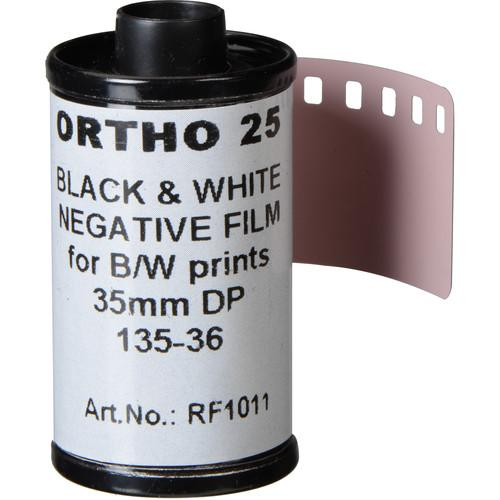 Rollei Ortho 25 Black and White Negative Film 3731011