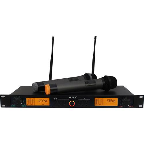 RSQ Audio UHF-6200N 200-Channels Digital Wireless UHF6200N