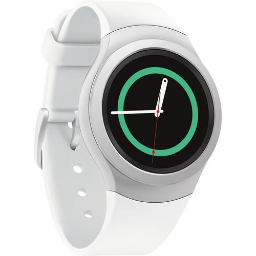 Samsung Gear S2 Bluetooth Smartwatch (White) SM-R7200ZWAXAR