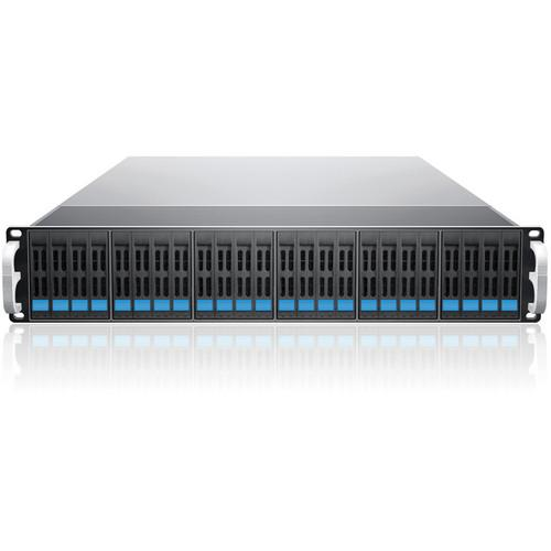 Sans Digital EliteSTOR 24-Bay 6G SAS/SATA to SAS KT-ES224X6 BS