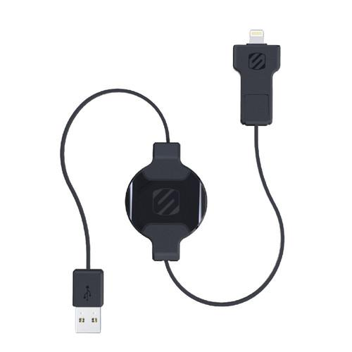 Scosche 3' SmartSTRIKE Pro Retractable Charge/Sync Cable I2MR
