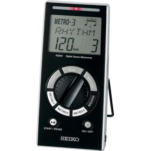 SEIKO  SQ200 Digital Quartz Metronome SQ200