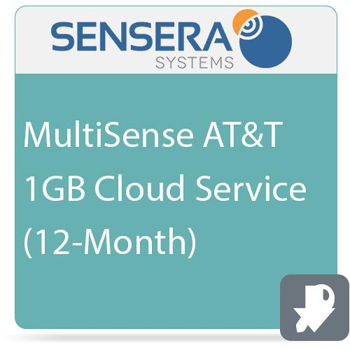 Sensera MultiSense AT&T 1GB Cloud Service CS-XA-YC1