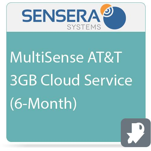 Sensera MultiSense AT&T 3GB Cloud Service (6-Month)
