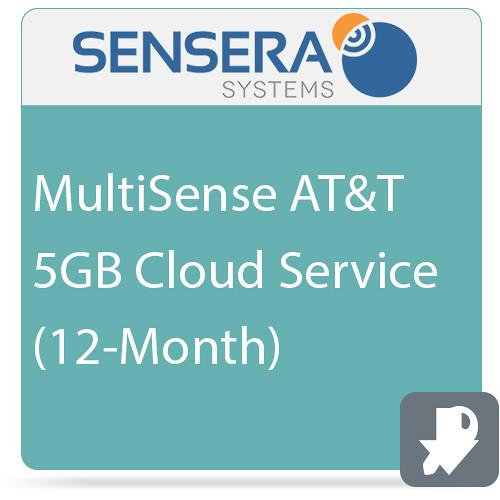 Sensera MultiSense AT&T 5GB Cloud Service CS-XA-YC5
