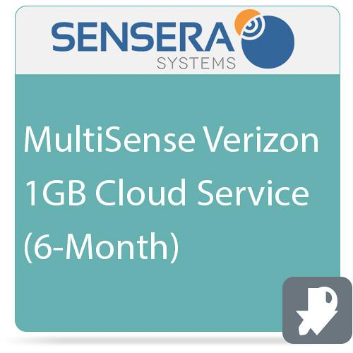 Sensera MultiSense Verizon 1GB Cloud Service (6-Month) CS-XV-6C1