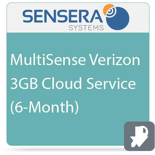 Sensera MultiSense Verizon 3GB Cloud Service (6-Month) CS-XV-6C3