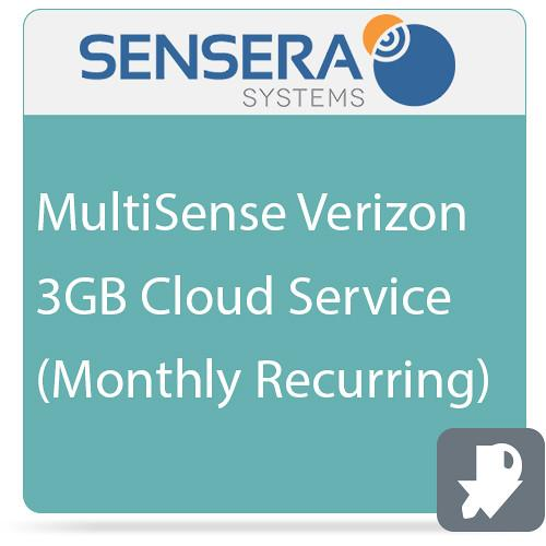 Sensera MultiSense Verizon 3GB Cloud Service CS-XV-1C3