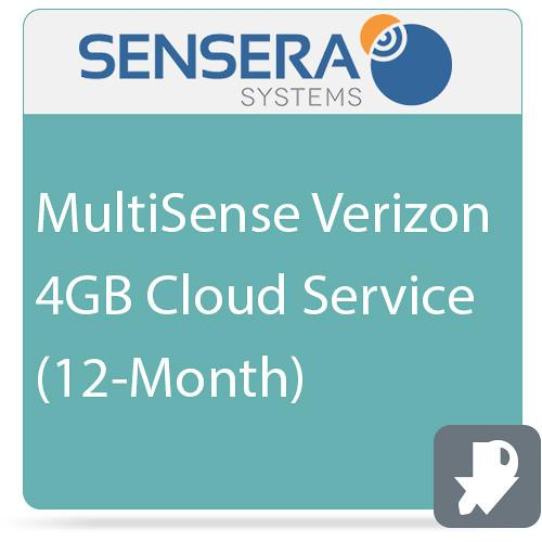 Sensera MultiSense Verizon 4GB Cloud Service (12-Month)
