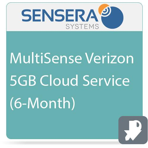 Sensera MultiSense Verizon 5GB Cloud Service (6-Month) CS-XV-6C5