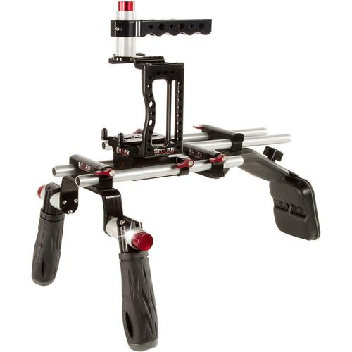 SHAPE XC10SM-OF XC10 Camera Cage with Shoulder Mount XC10SM-OF