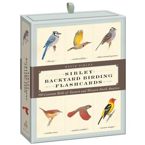 Sibley Guides Backyard Birding Flashcards:100 9780307888976