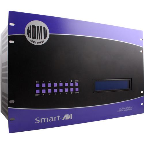 Smart-AVI 9-Port HDMI Real-Time Multiviewer and SM-HDMV9X-PLUS