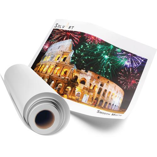 SolvArt Smooth Matte 210 Photo Paper Roll A51-SVS21030150R