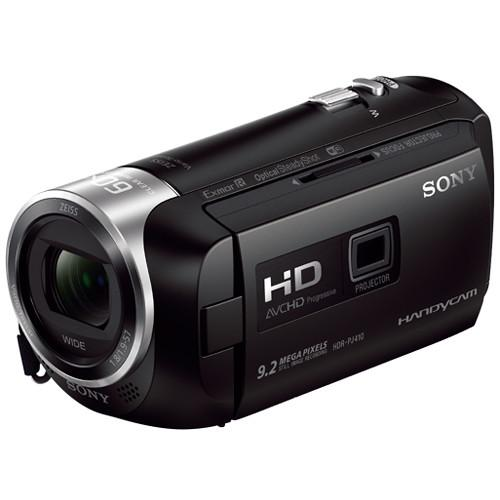 Sony HDRPJ410/BE HD Handycam with Built-In Projector HDRPJ410/BE