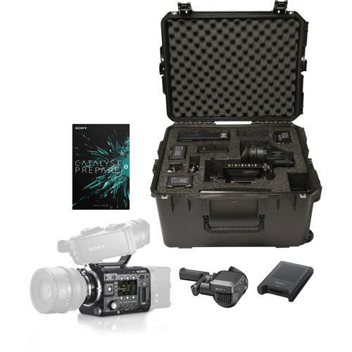 Sony PMW-F55KAEL F55 Camera Kit with OLED Viewfinder, PMWF55KAEL
