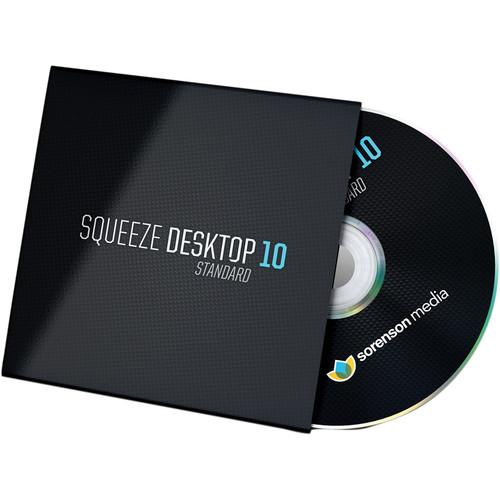 Sorenson Media Squeeze Desktop 9 to Squeeze Desktop 2010S-9-USB