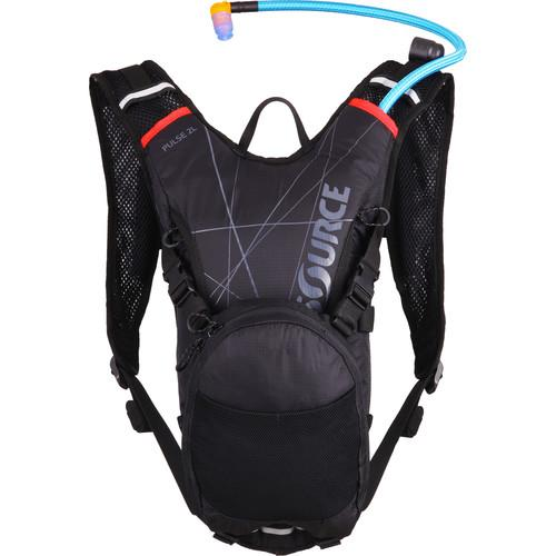 SOURCE Pulse Hydration 2 L Pack (Black / Red) 2051522202