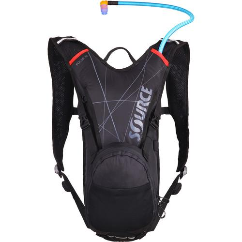 SOURCE Pulse Hydration 3 L Pack (Black / Red) 2051522203