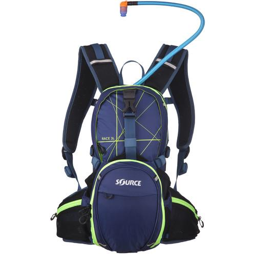 SOURCE Race 15L Hydration Pack (Dark Blue/Green) 2051626403