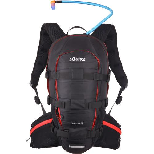 SOURCE Whistler 20L Hydration Pack (Black/Red) 2051322203