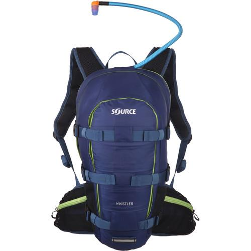 SOURCE Whistler 20L Hydration Pack (Dark Blue/Green) 2051326403