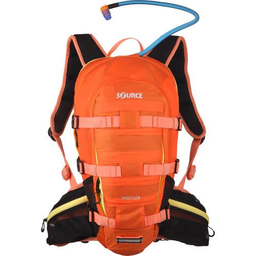 SOURCE Whistler 20L Hydration Pack (Orange/Yellow) 2051326503