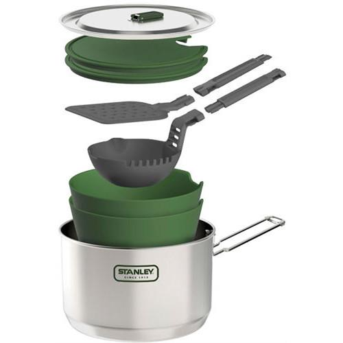 Stanley Adventure 2.43 Qt Two Pot Prep and Cook Set 10-01613-001