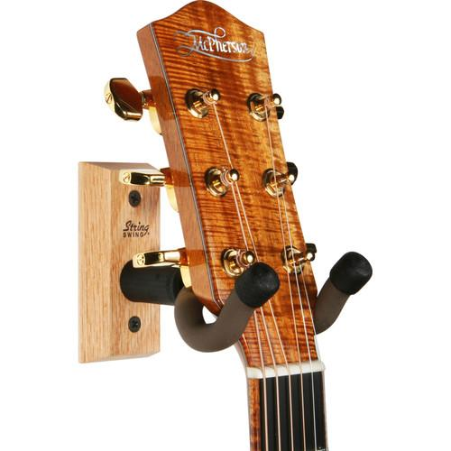 STRING SWING CC01K Hardwood Home and Studio Guitar Keeper CC01K