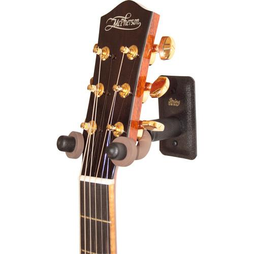 STRING SWING CC11W Metal Home and Studio Guitar Keeper BCC11W